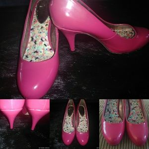 Hot Pink Madden girl shoes, size 7.5